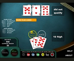 3 card poker igrica