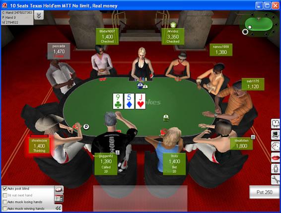 online poker community