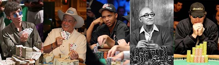 5 najboljih poker igrača svih vremena