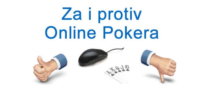 Za i protiv online pokera