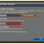 BetFair poker bonus kod - instrukcije