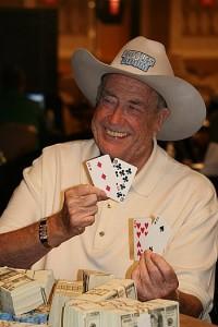 Doyle Brunson, legenda pokera